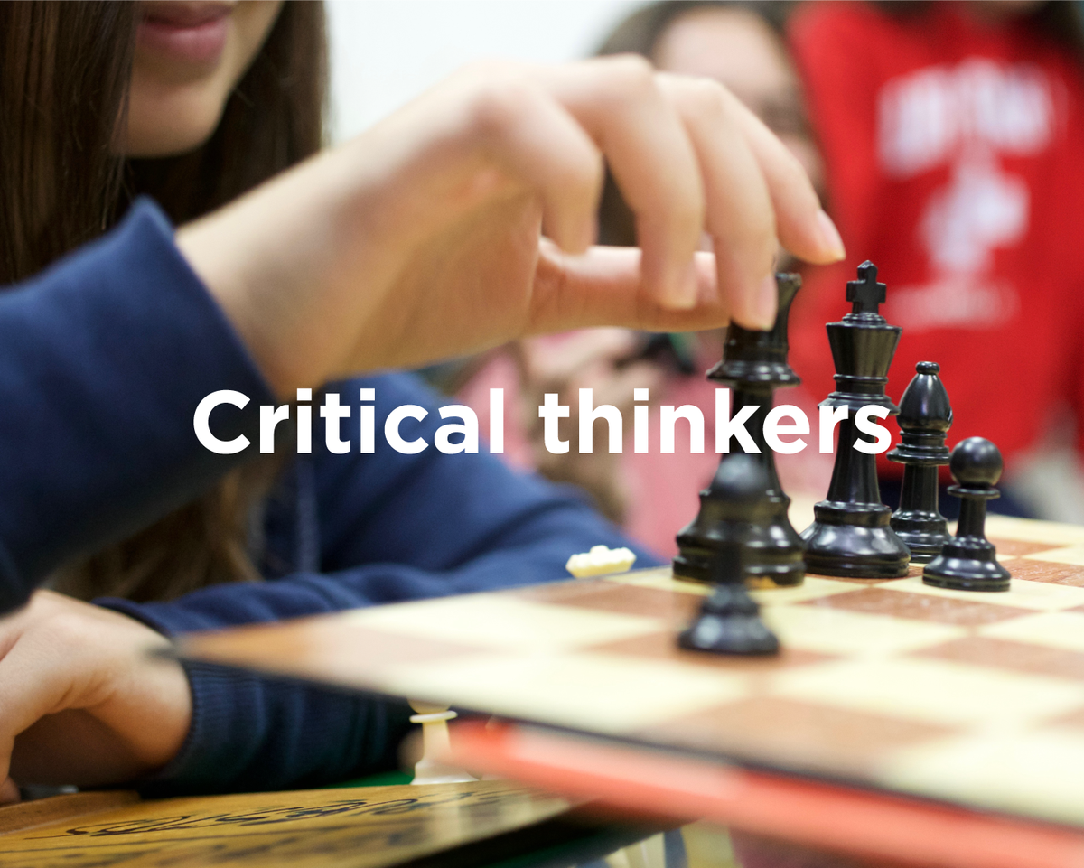 critical thinkers