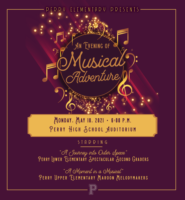 An Evening of Magical Adventures, May 10th at 6pm in the High School Auditorium