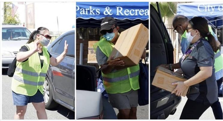 Thank you to our Feed Alhambra Drive-Through Food Distribution Volunteers Featured Photo