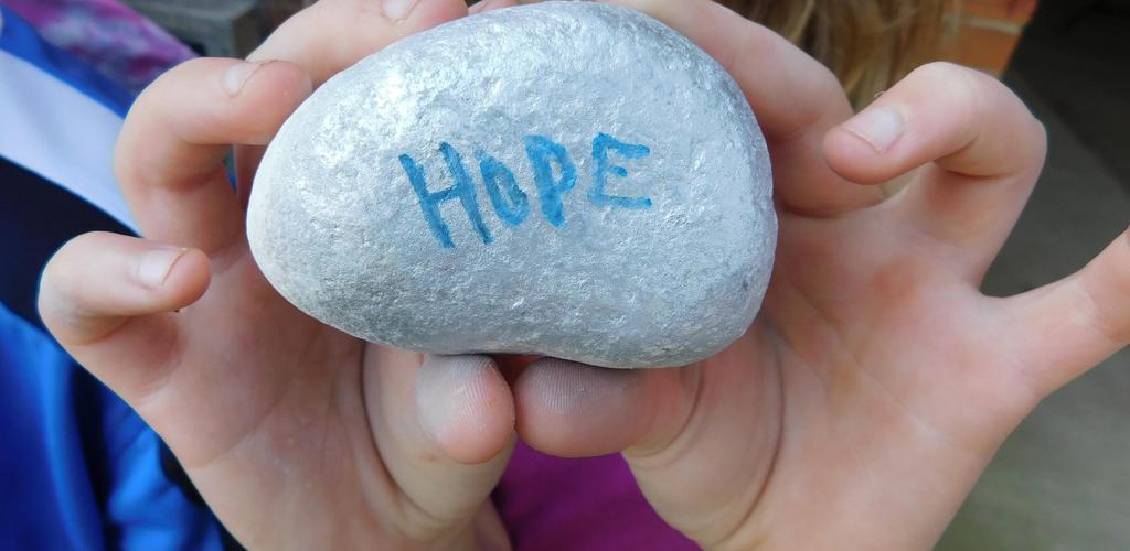 Hope, Kindness Rocks!