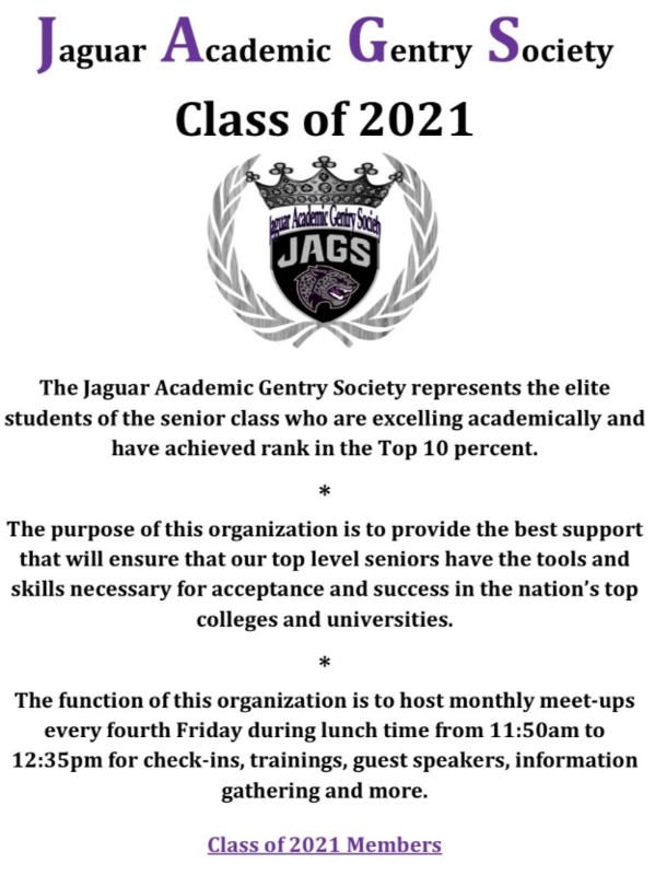 Jaguar Academic Gentry Society Featured Photo