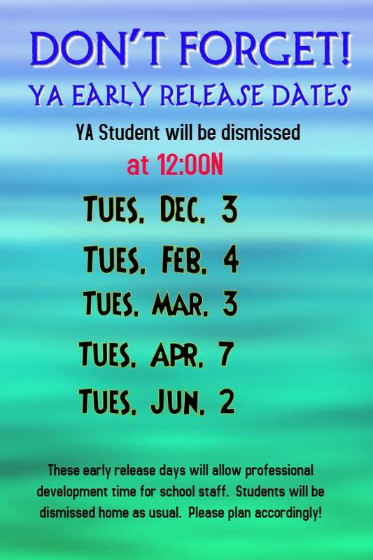 New Early Release Days