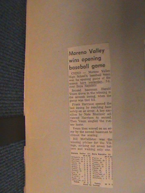 MVHS 1967