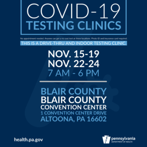 COVID-19 Testing Clinics Available