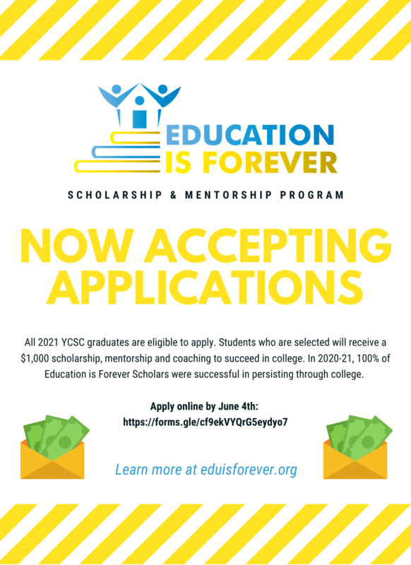 Education Is Forever Announcement