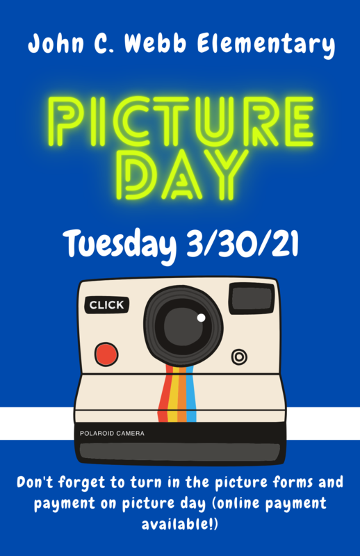 Picture Day at John C. Webb Elem. (3/30/21) Featured Photo