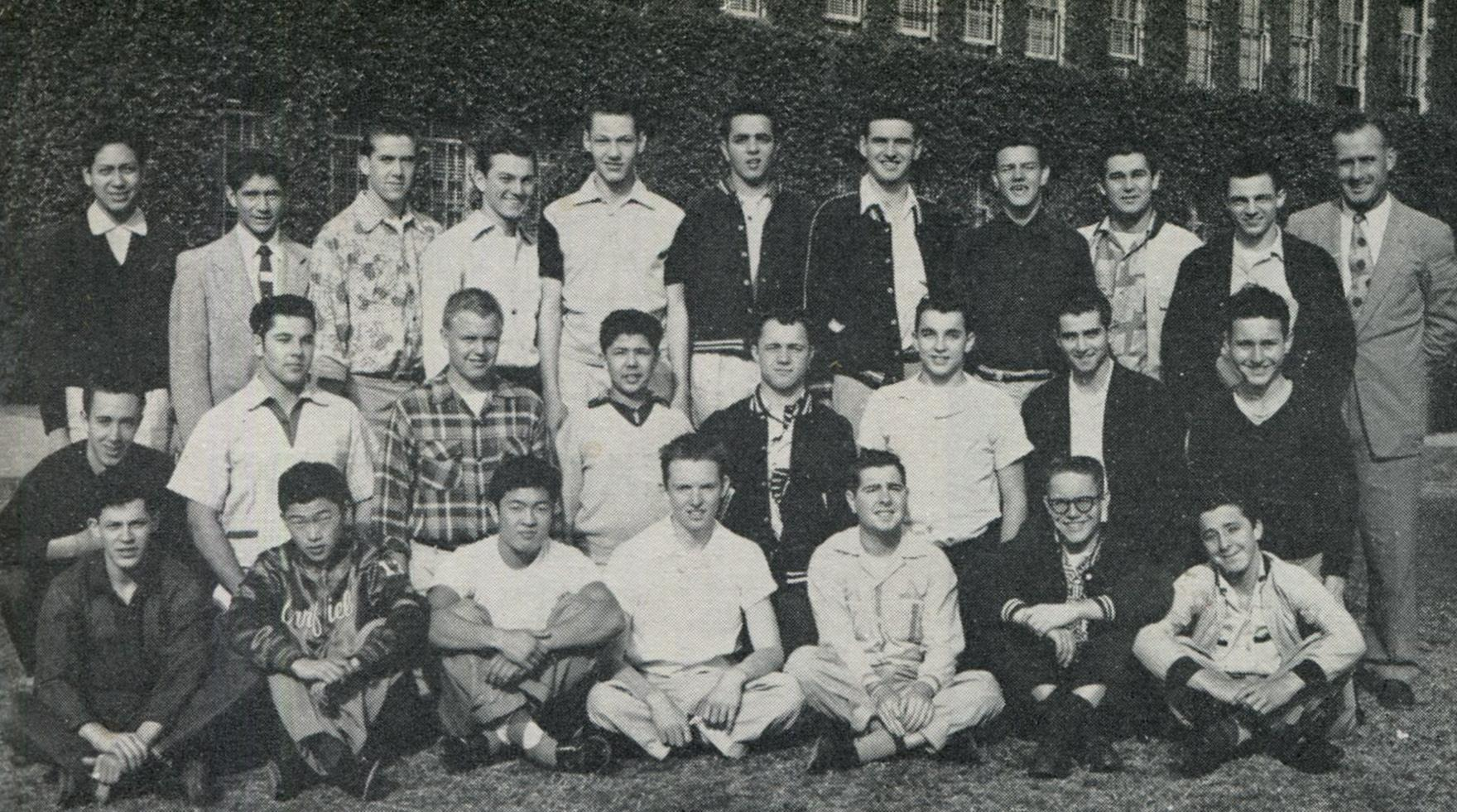 Key Club '54, Michael is on the middle row first on the right