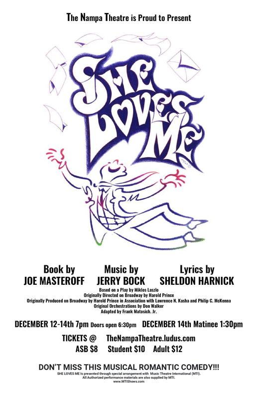 She Loves Me Flyer