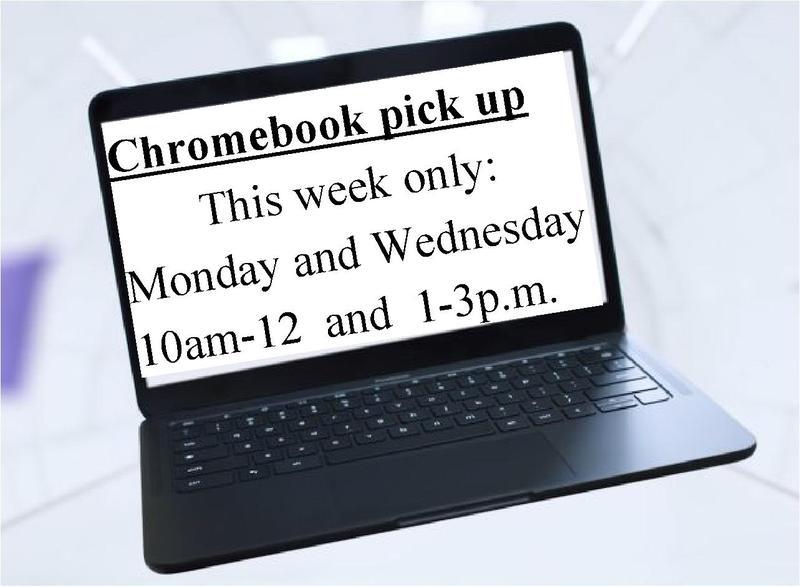 Chromebook pickup times