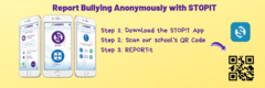 report bullying with STOPIT app