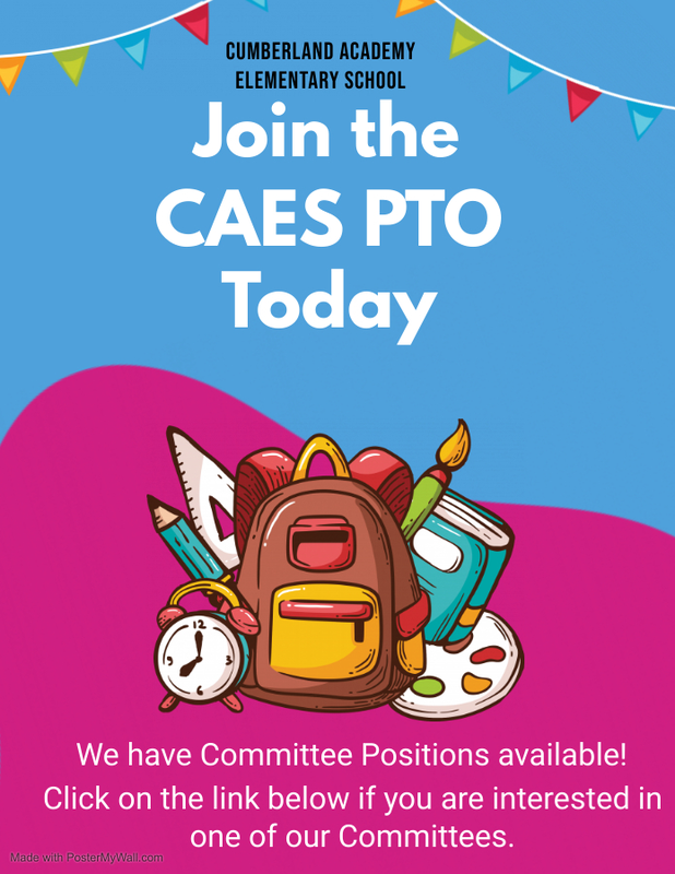 Join CAES PTO Today Featured Photo