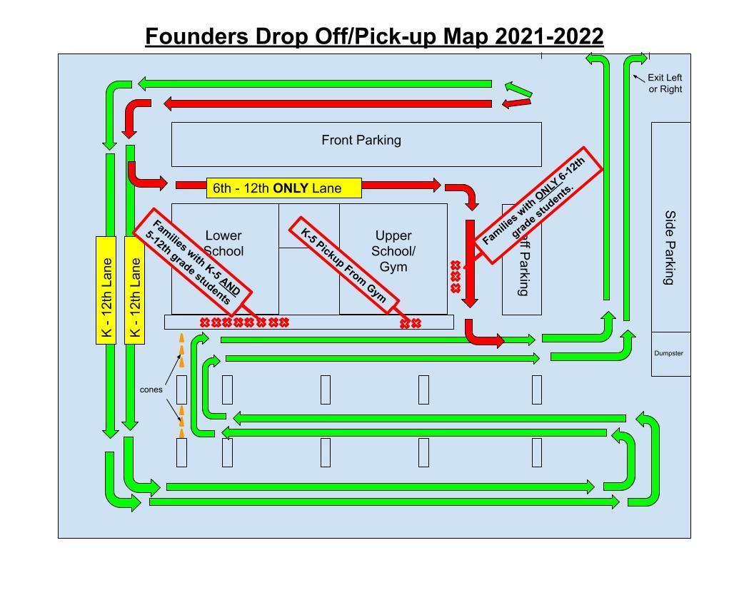 FCAS Drop Off Map