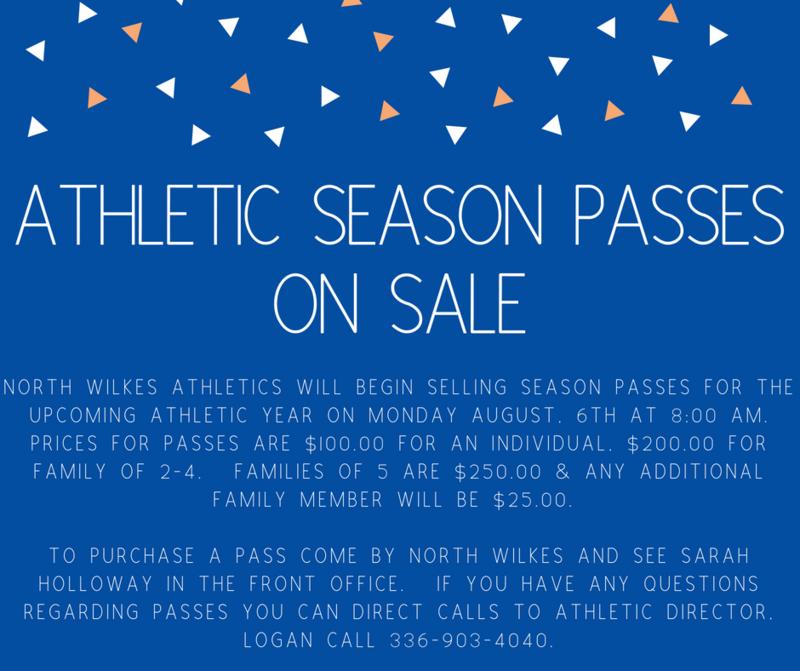 Athletic Season Passes On Sale Thumbnail Image