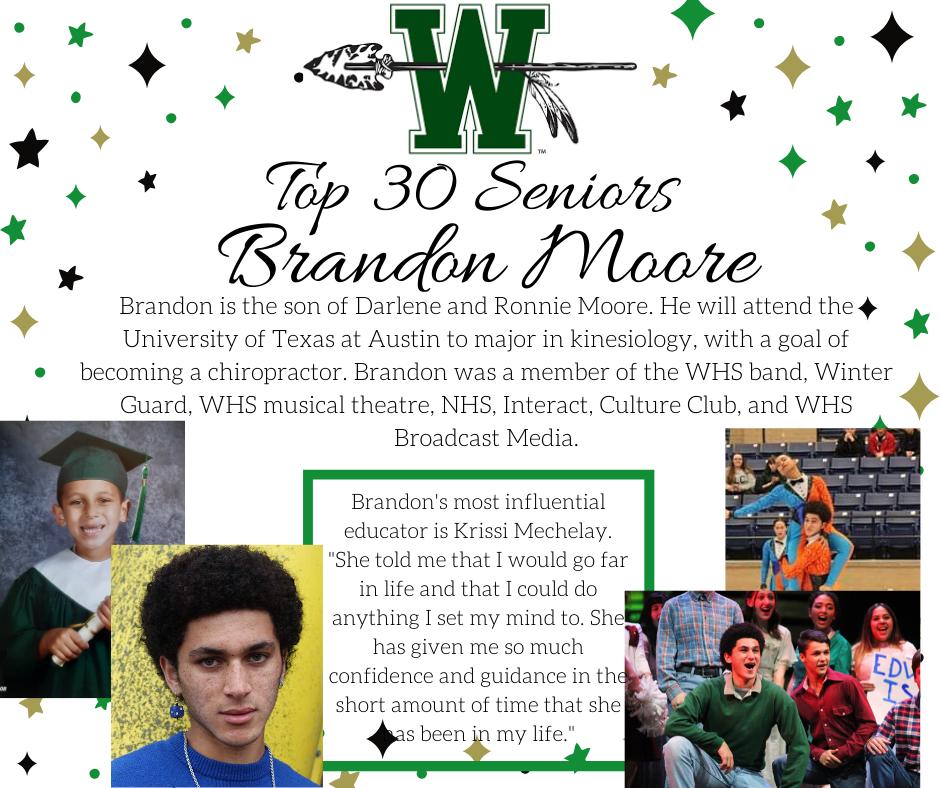 graphic of brandon moore