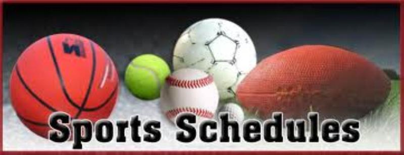 Sports Schedule