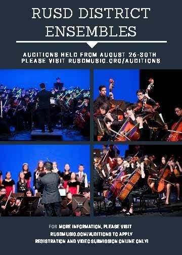 District Ensemble Auditions