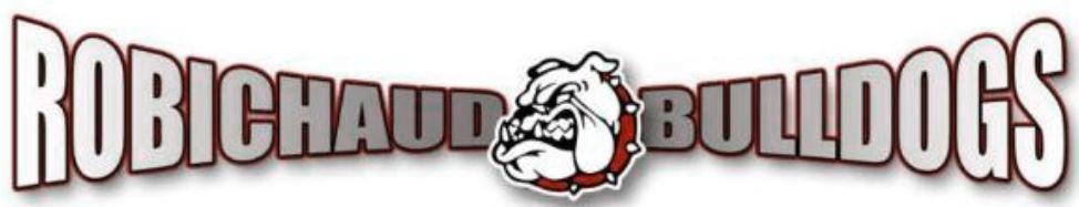 Robichaud Bulldogs Logo