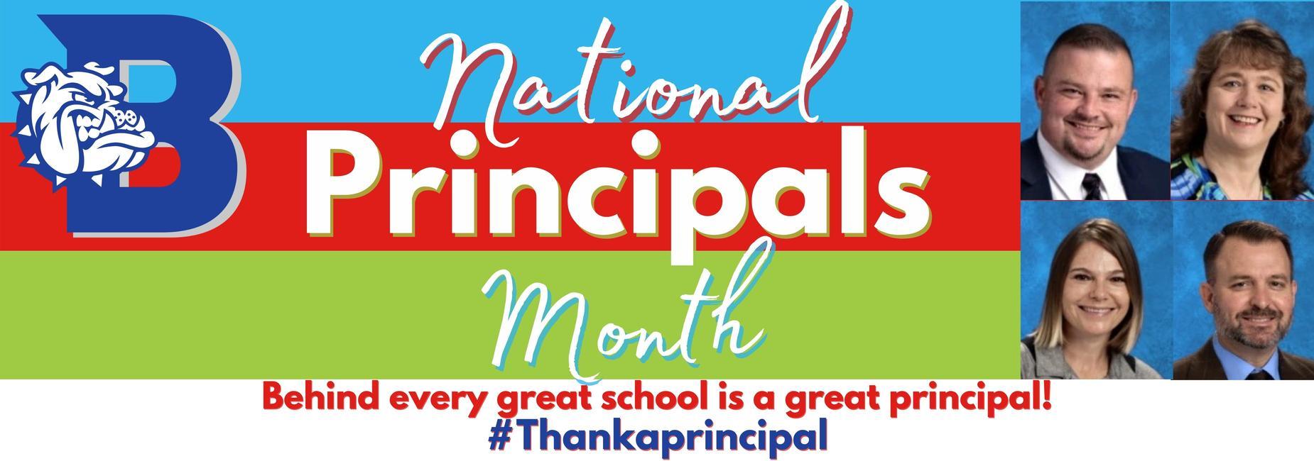 National Principal month