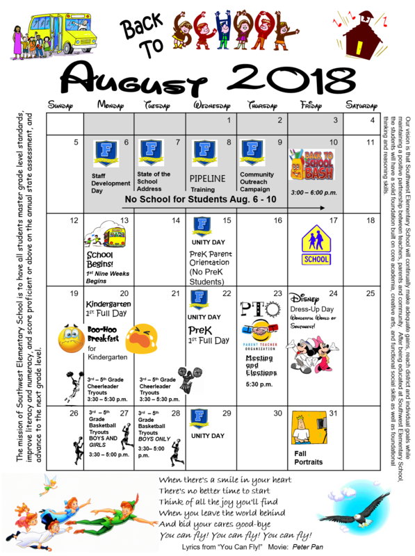 What's Happening in August! Thumbnail Image