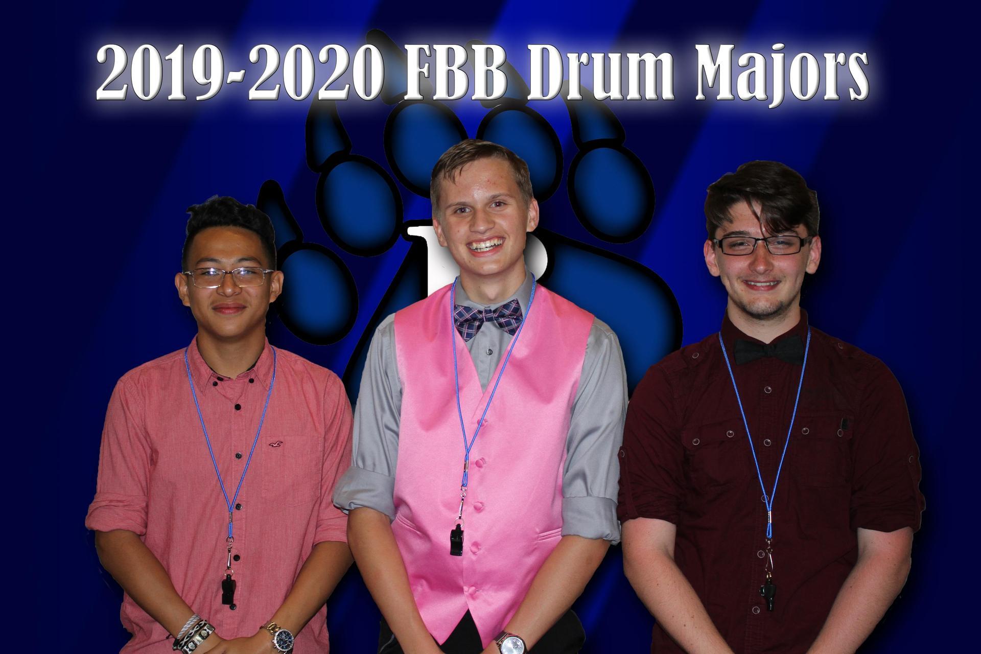 2019 Drum Majors