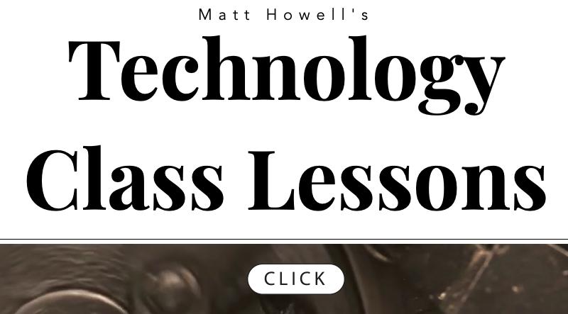 Technology Class Lesson