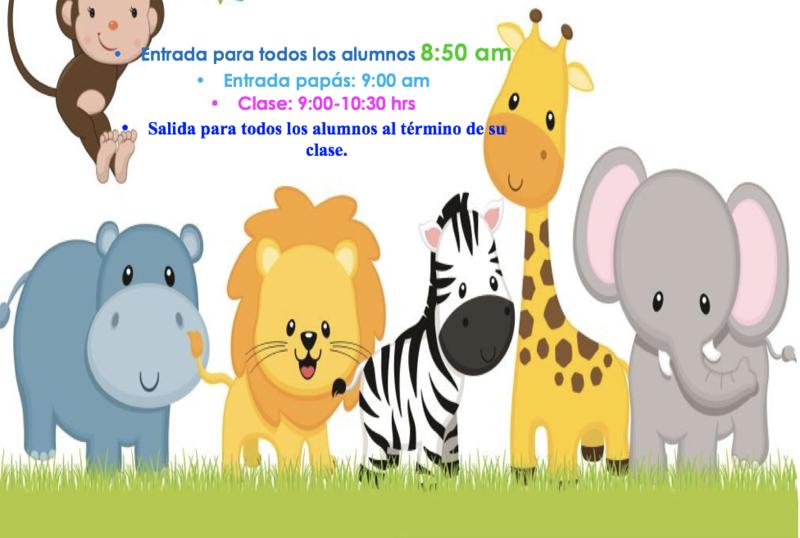 Invitación Clase Pública 1º de preescolar Featured Photo