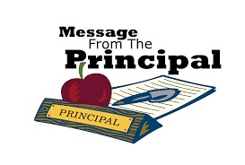 A message from the Principal Featured Photo