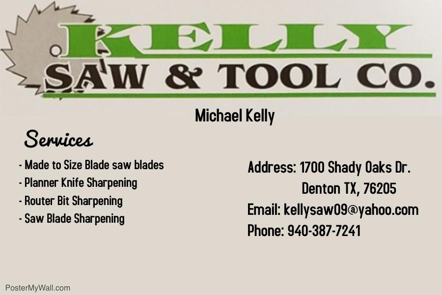 Kelly Saw Logo