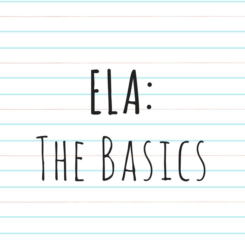 ELA THE BASICS/NEW LIVE BINDER