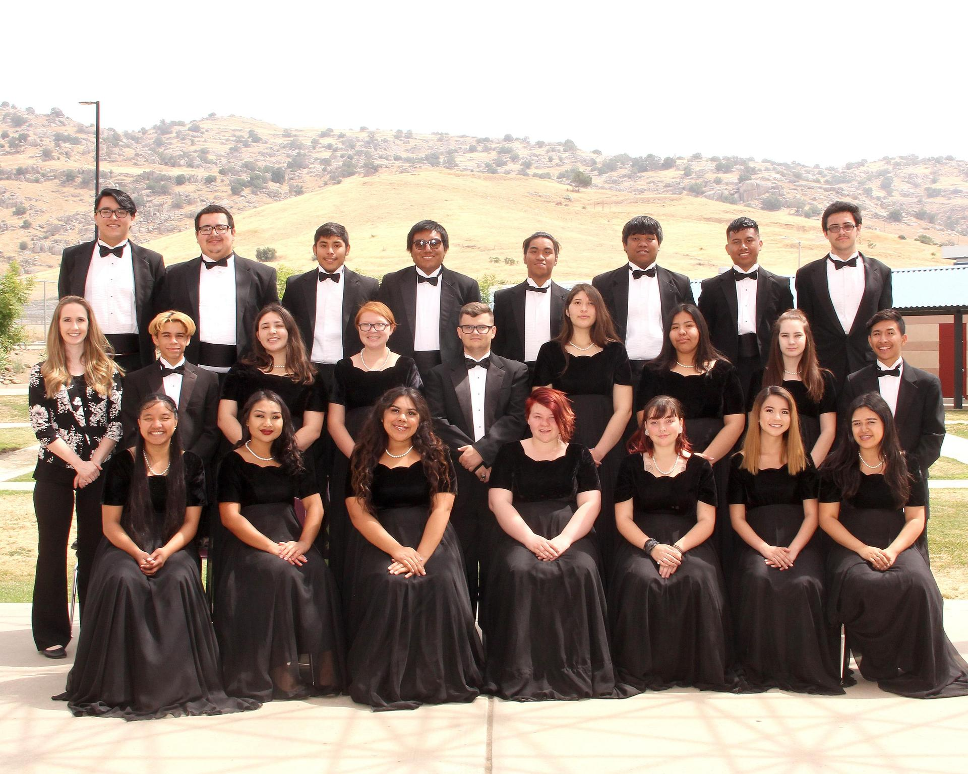 2018-19 Grizzly Chamber Choir