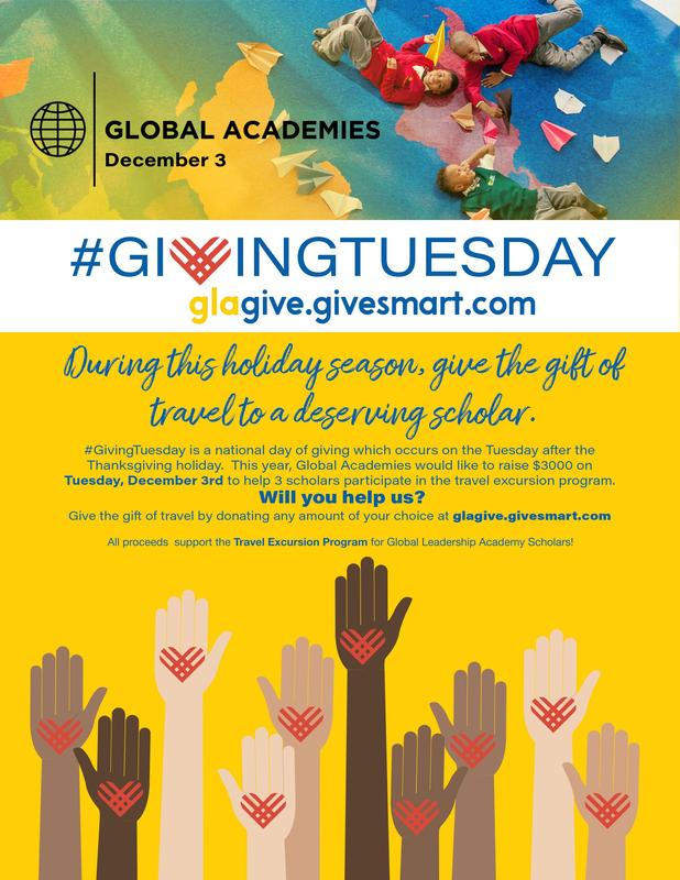 Click HERE to Donate to Global Academies' Giving Tuesday Featured Photo