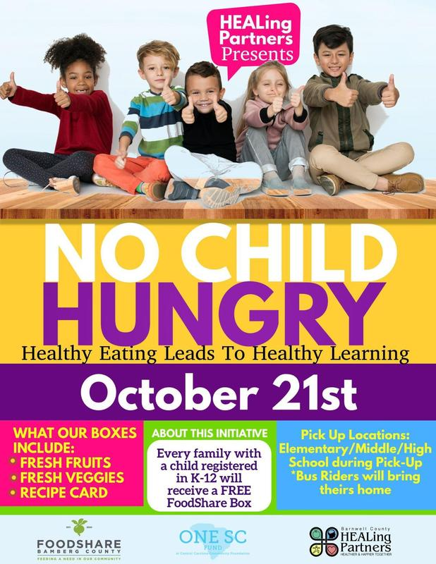 No Child Hungry Flyer