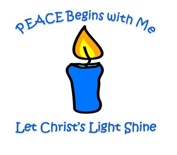 """Peace Begins With Me, Let Christ's Light Shine"" Featured Photo"