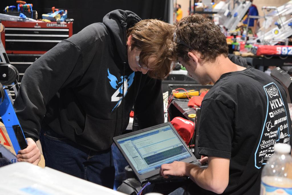 Matthew, Brandon coding