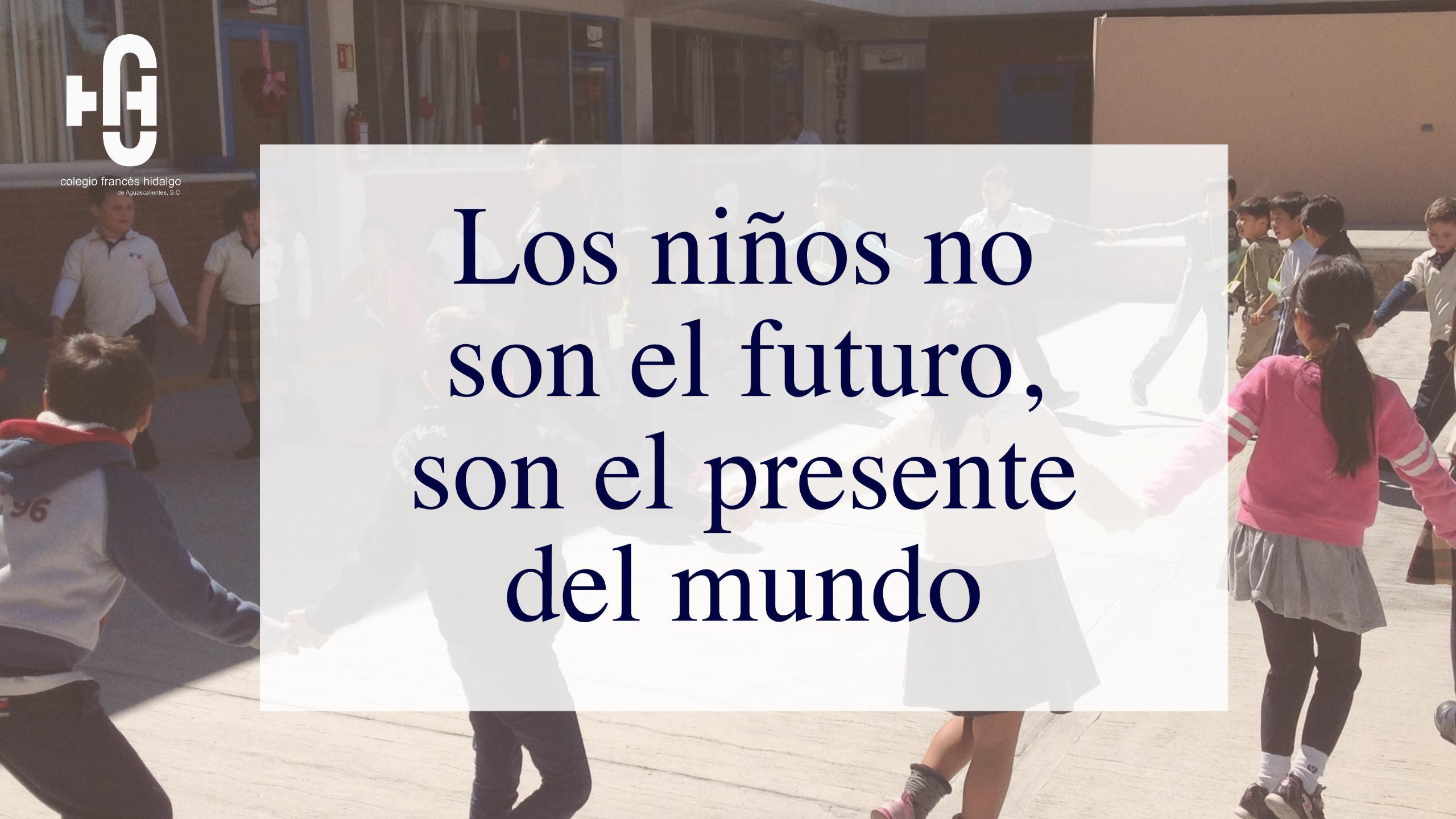 Los niños no son el futuro, son el presente del  mundo Image