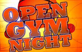 OPEN GYM!  Wednesday, February 27th / 6:30 - 8:30 pm Featured Photo