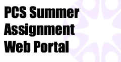 Summer Assignment Website Thumbnail Image