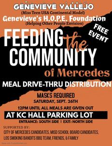 Feeding the Community of Mercedes | Saturday, September 26th Featured Photo