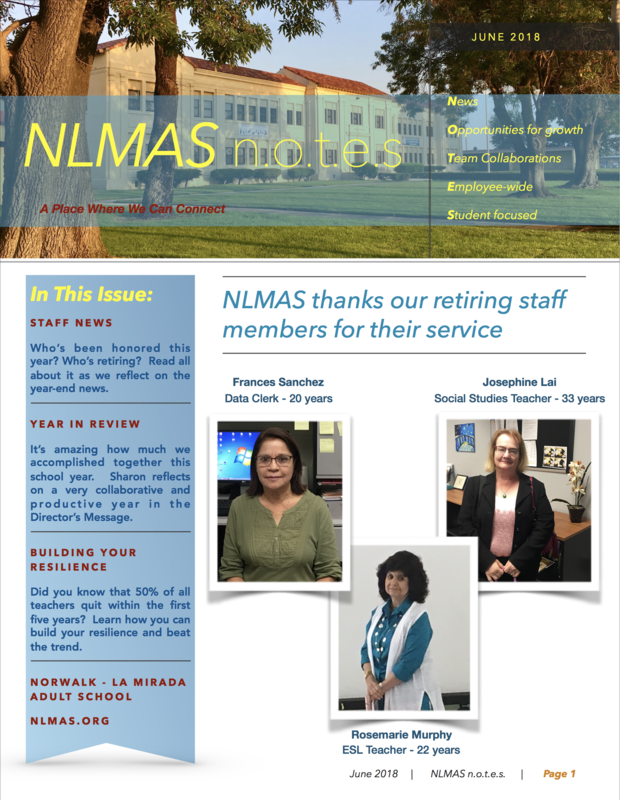 NLMAS June n.o.t.e.s! Featured Photo