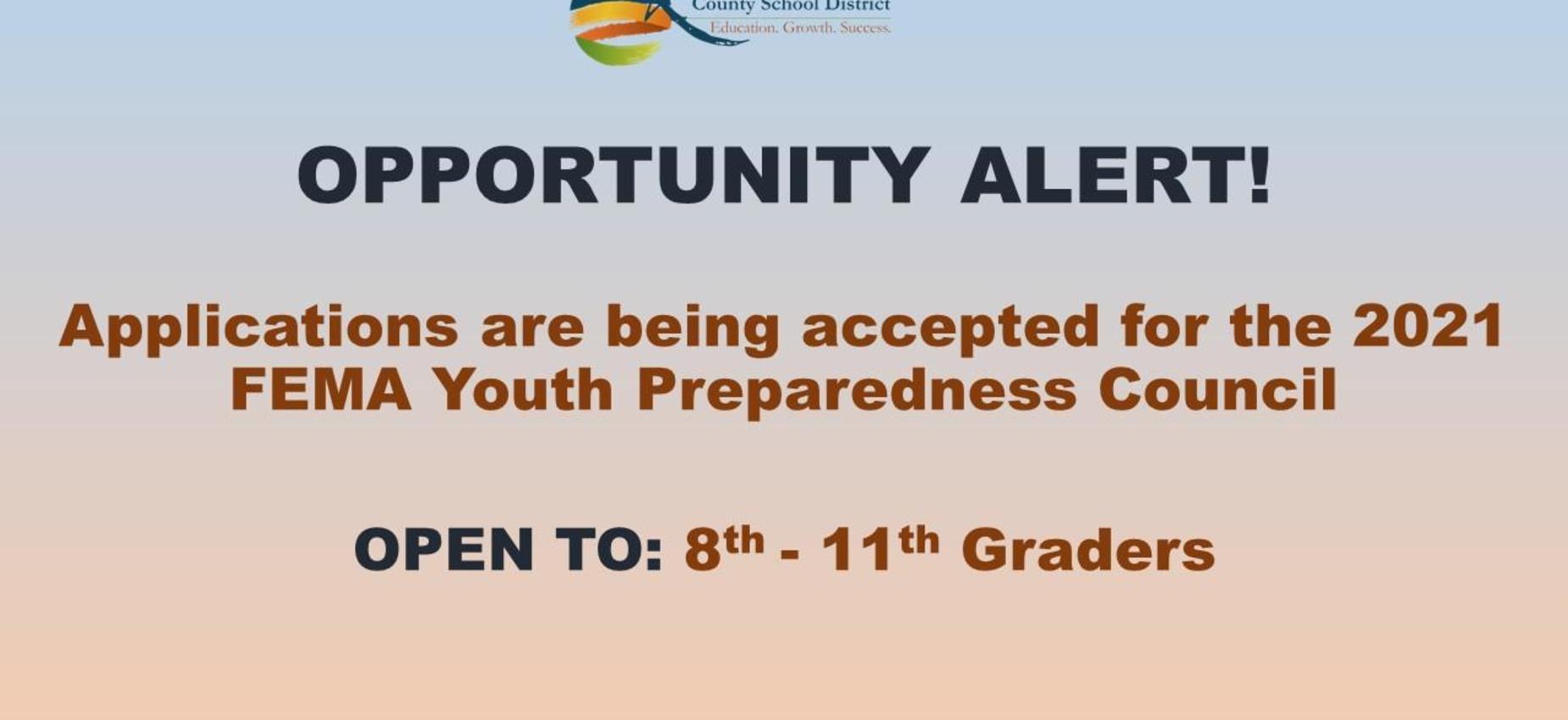 FEMA Youth Preparedness Council Graphic