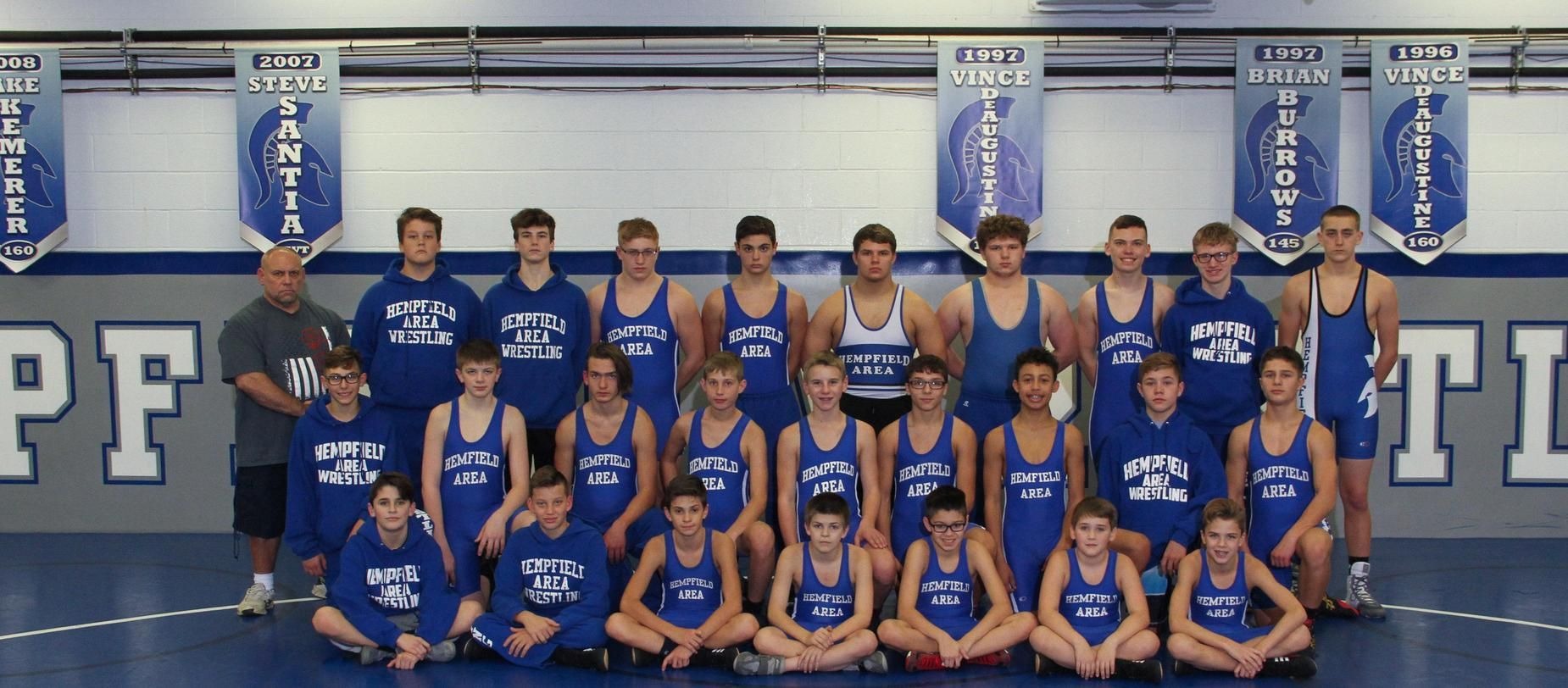 Middle School Wrestling Team