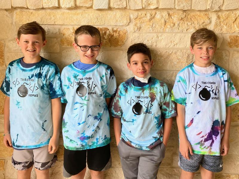 JRES Coded Bombs First Lego League team