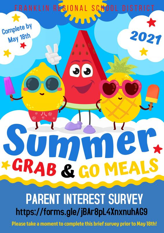 Summer 2021 Grab & Go Survey