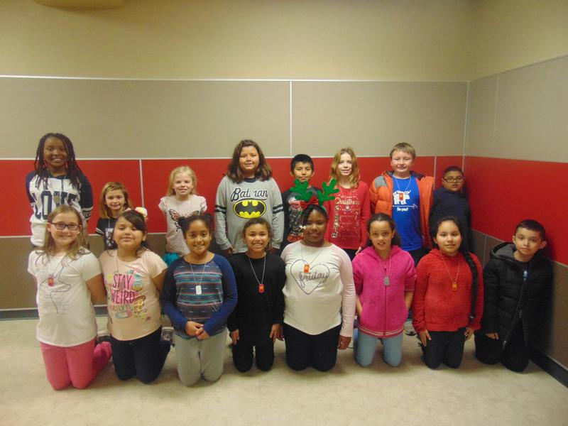 3rd Grade December Student of the Month Featured Photo