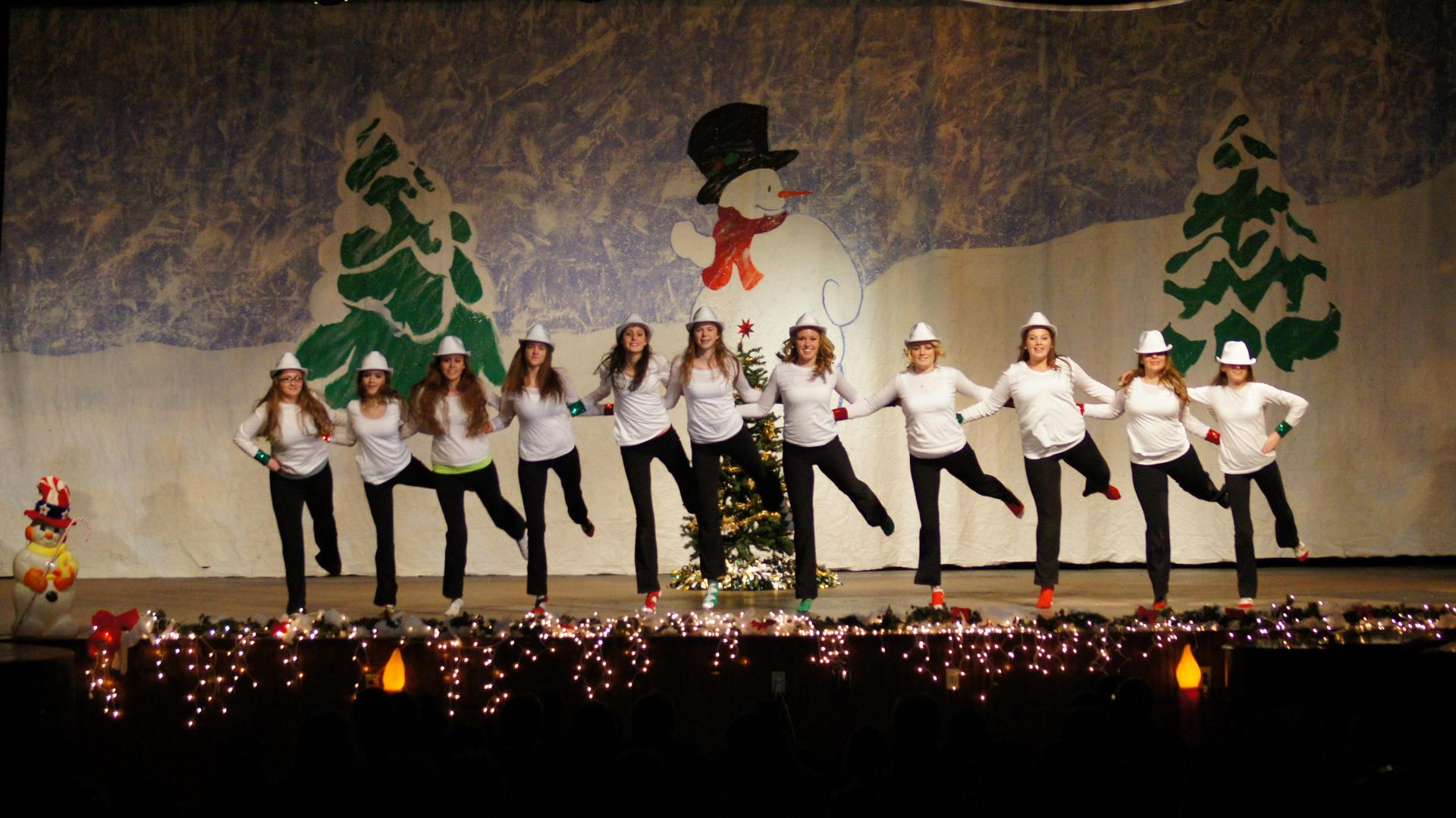Rebelettes perform at Christmas concert