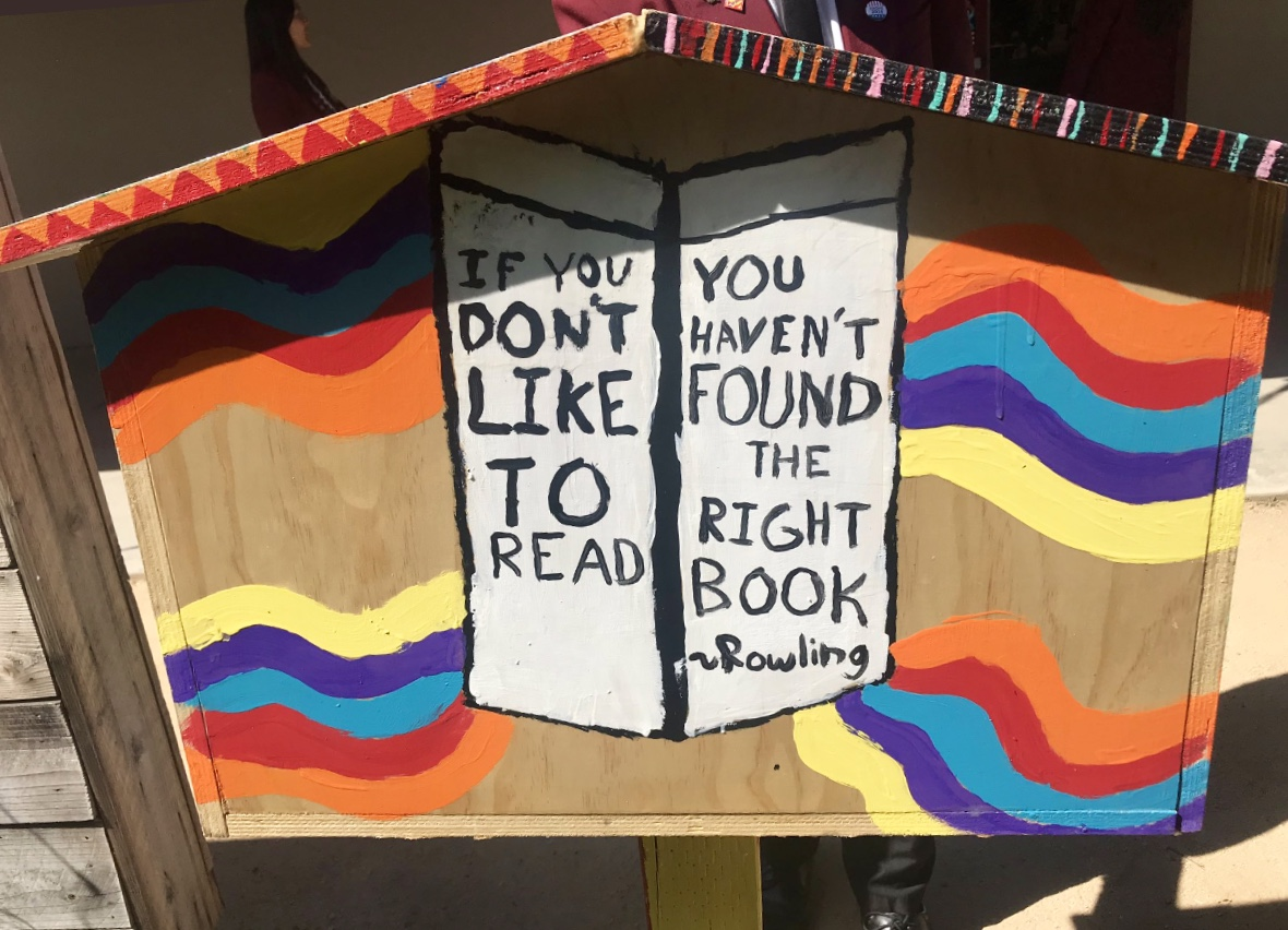 SMW Little Free Library