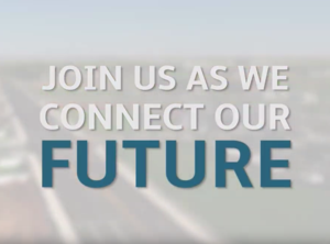 Text - Join us as we connect our future.