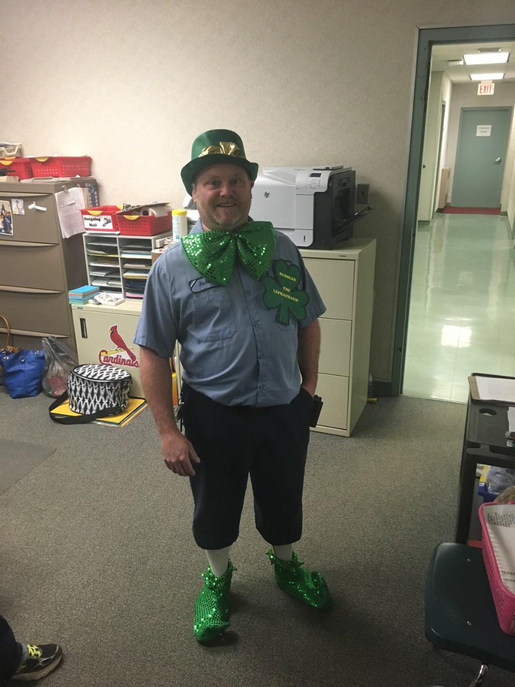 Rich on St. Patrick's day