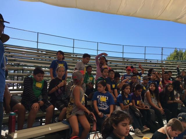 Edward Hyatt Elementary 5th grade students enjoying Soboba Pow Wow