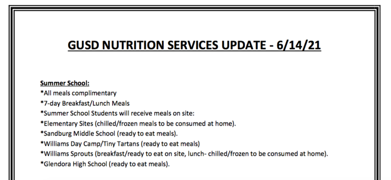 june nutrition updates